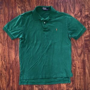 Polo Ralph Lauren Classic Fit Green Polo